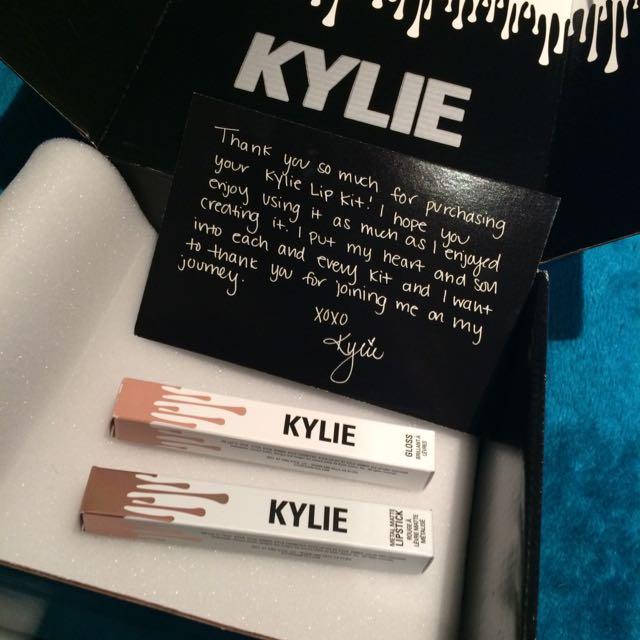 Kylie Cosmetics Lipstick And Gloss