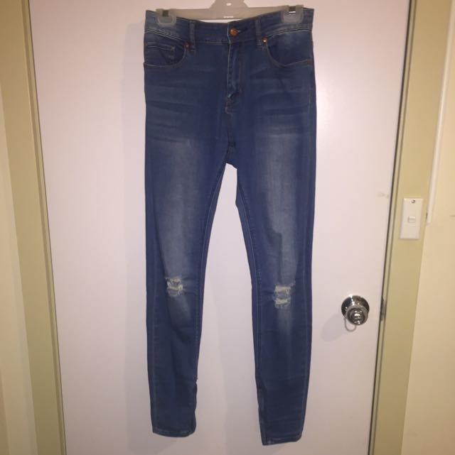 Lee High Kicks Size 9 Denim Jeans