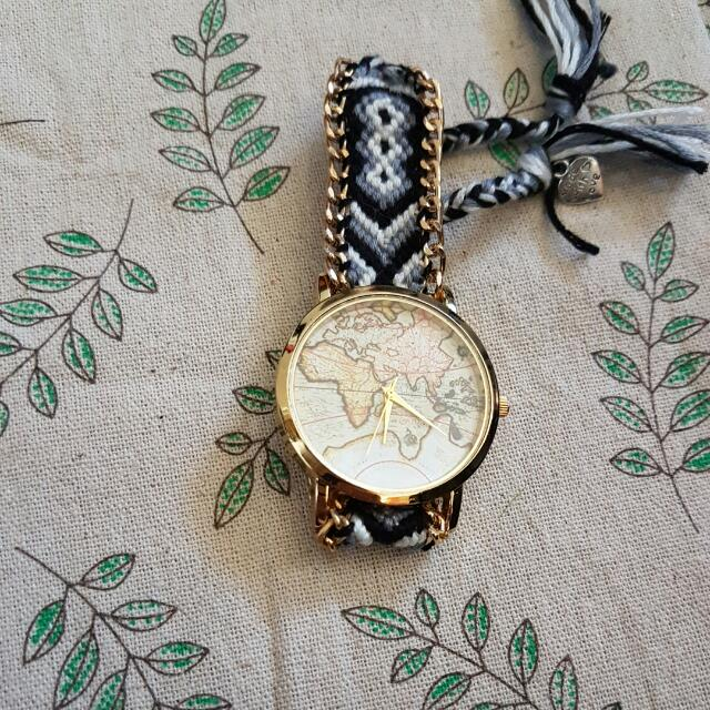 Mesmer Map Braided watch