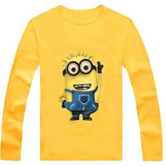 Minions Long Sleeve Tshirts