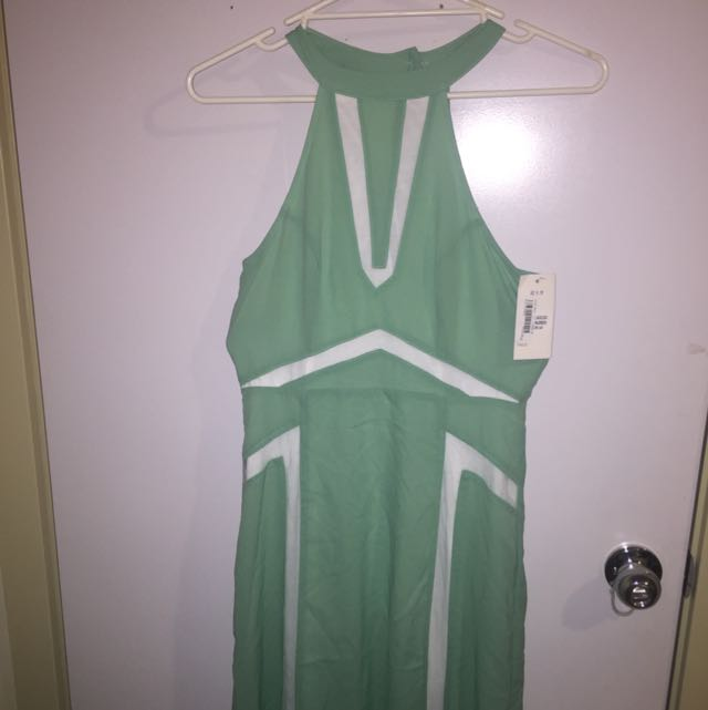Mint Green Long Dress Size 10