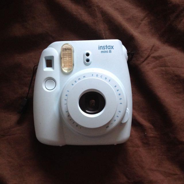 Mint Polaroid Camera