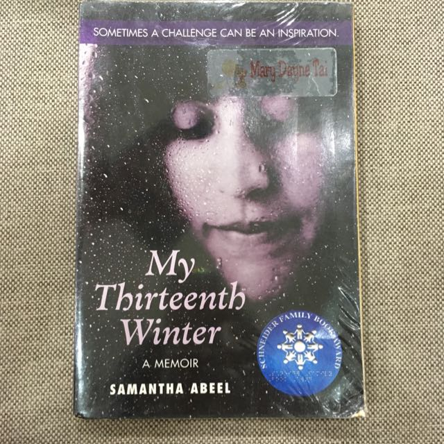 My Thirteenth Winter By Samantha Abeel