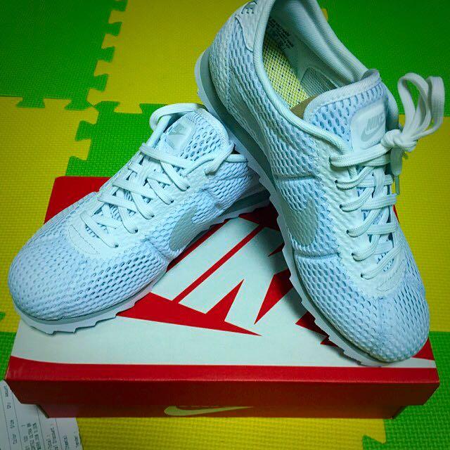 Nike W Cortez Ultra Br 白鞋24cm 正品100%