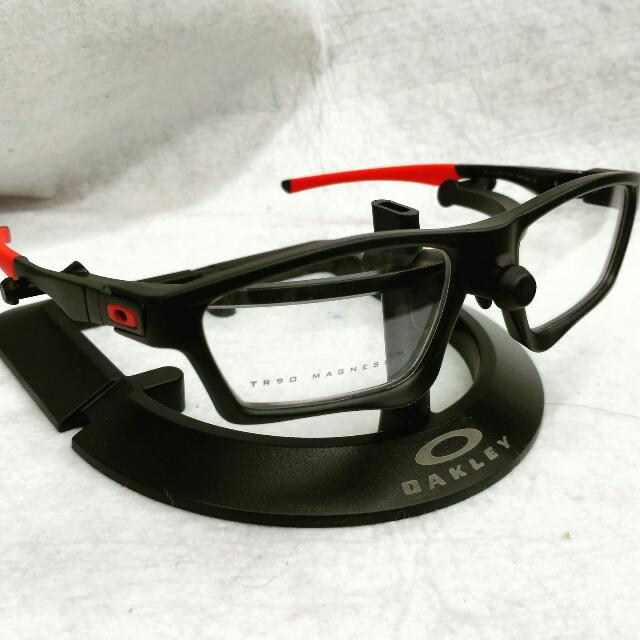 Oakley Crosslink Backwind Sweep prescription Frames, Men\'s Fashion ...