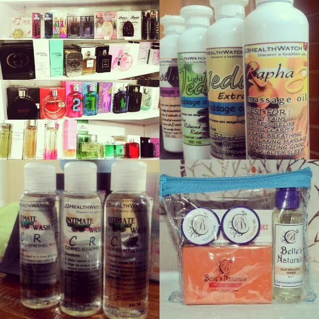 Organic Massage Oils, Branded Authentic Perfumes, Organic Feminine wash, Skin Beauty Products