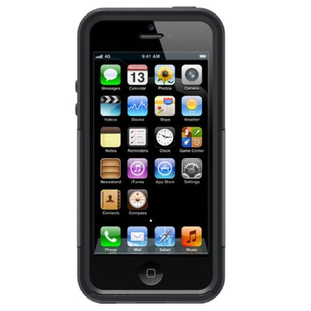 OTTERBOX IPHONE SE / 5S / 5 COMMUTER SERIES BLACK