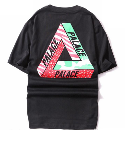 Palace skate tee all sizes Black on lolly