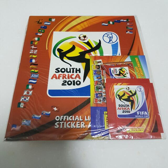 baace8fcb Panini World Cup 2010 Sticker Album, Books & Stationery on Carousell