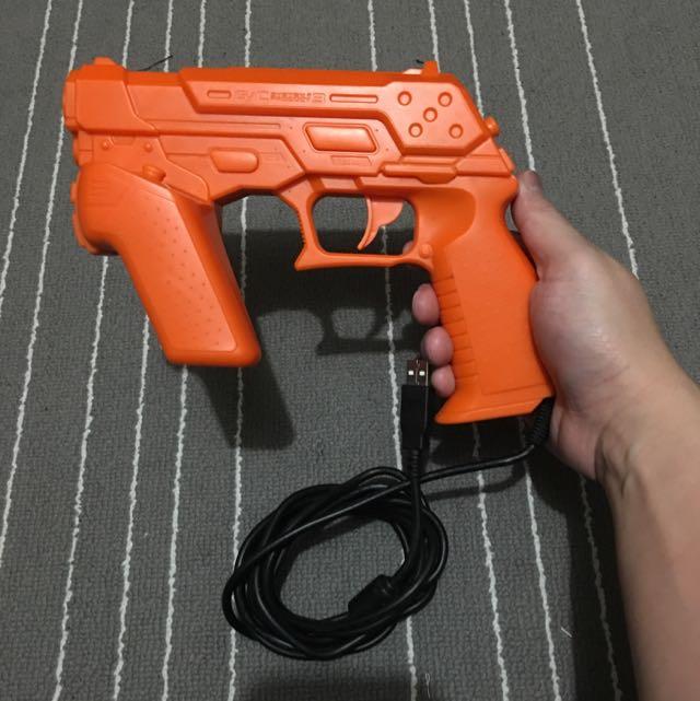 PS3 Time Crisis Gun