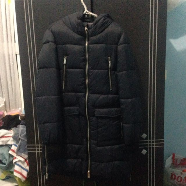 Pull And Bear Winter Coat