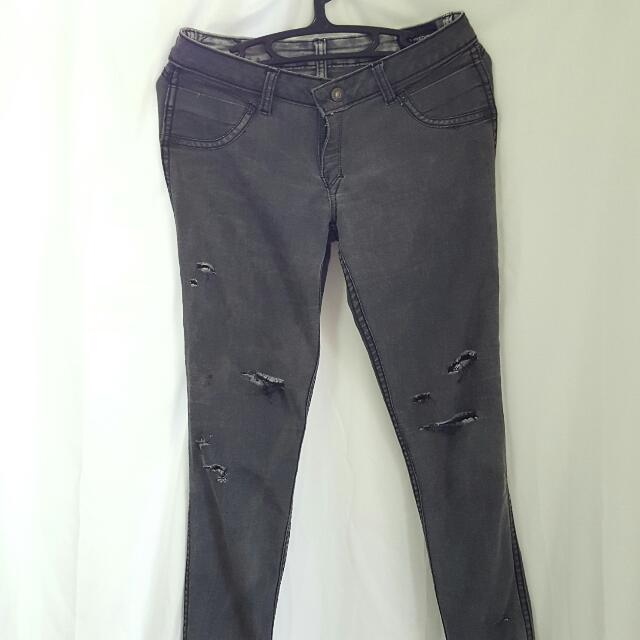 Reversible Freego Distressed Skinny Jeans