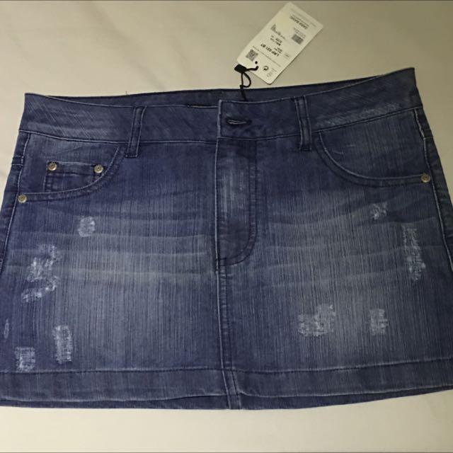 Rok Jeans Zara Basic