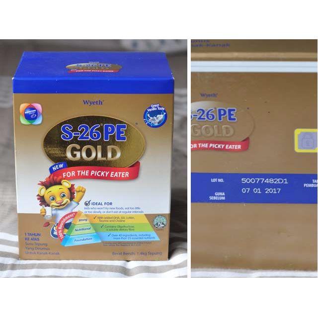 S-26 PE GOLD , Milk Formula