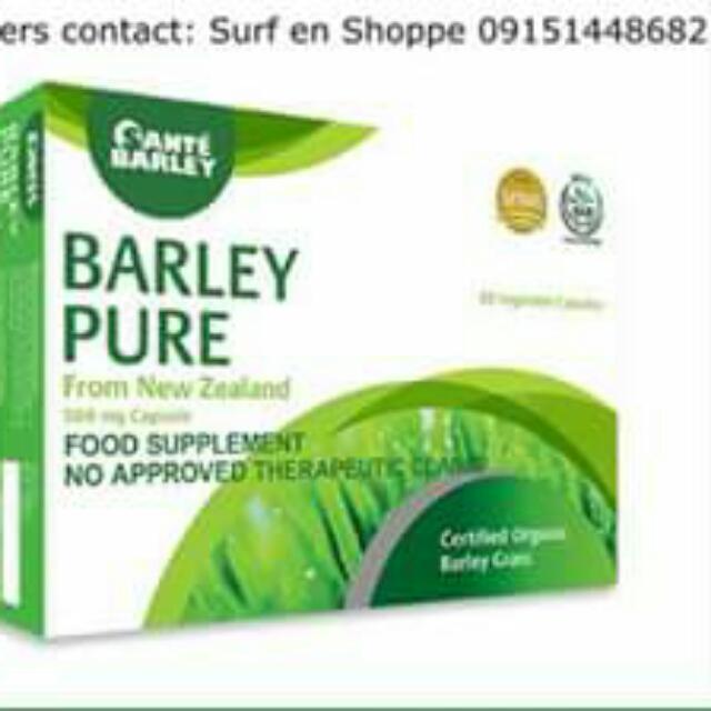 Santè Barley Capsule