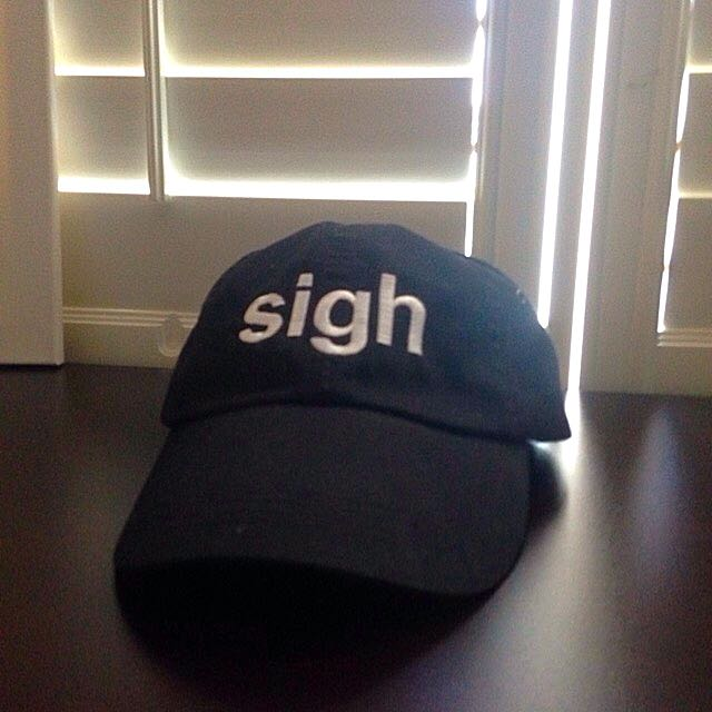 sigh dad cap/hat