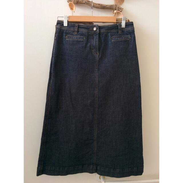 SPORTSCRAFT Dark Denim Skirt Size 6