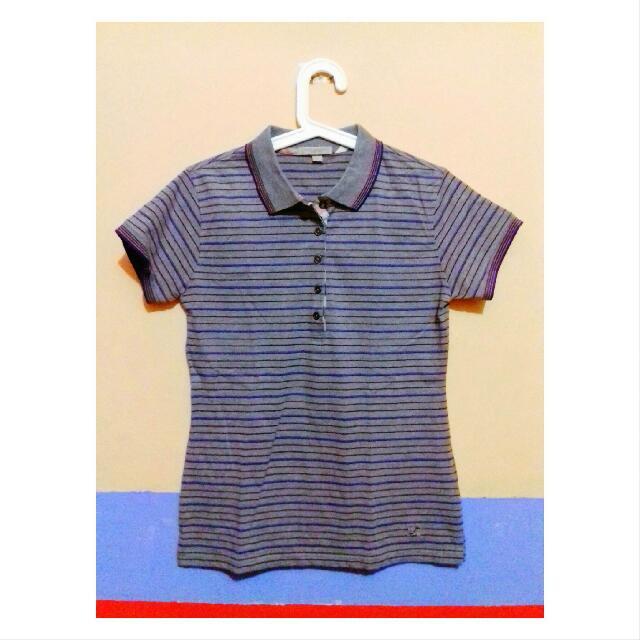 Stripe Polo Shirt (Burberry).