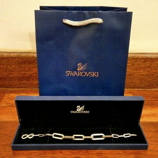 SWAROVSKI Chain Link Bracelet (100% Authentic)