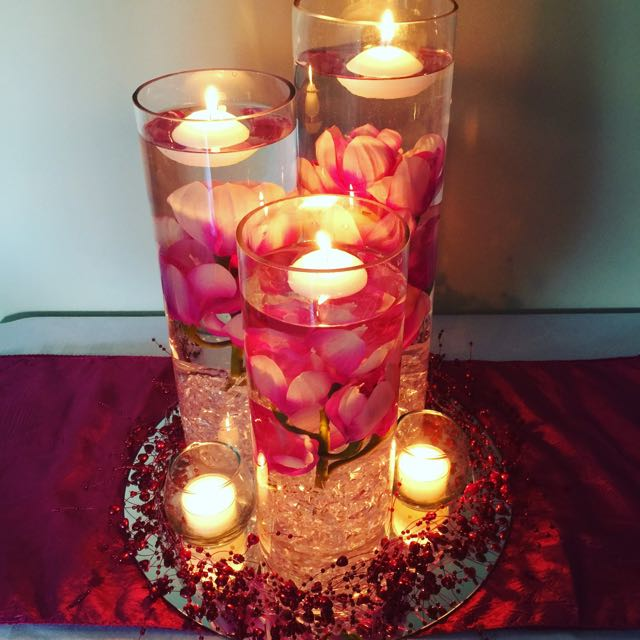 Wedding Table Centerpieces Hire only
