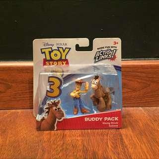 Waving Woody BullsEye Buddy Pack