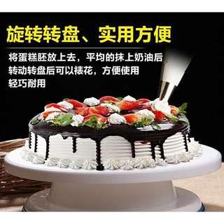 全新✨蛋糕轉台