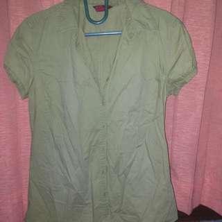 H&M Shirt Khaki