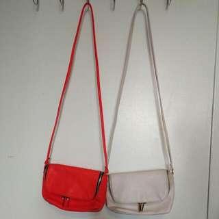2 Cross Body Bags