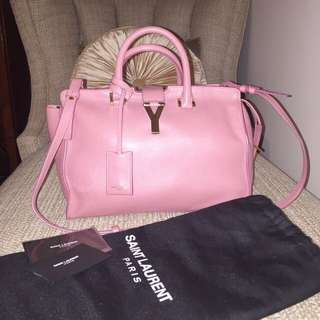 100% Authentic YSL CHYC bag in dusk pink medium