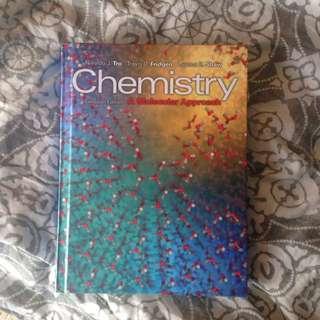 Chemistry, A Molecular Approach Textbook