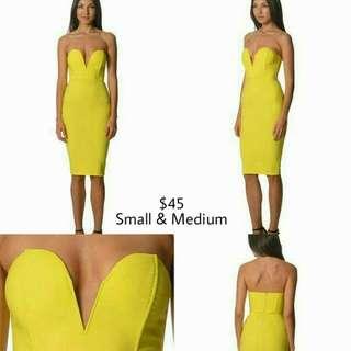 Yellow Passion Fusion Dress