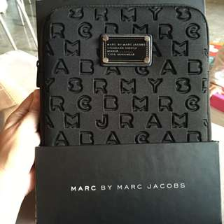 Marc by Marc Jacobs Dreamy Logo Neoprene Tablet Case, Black, One Size