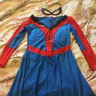 Spiderman Dress Costume