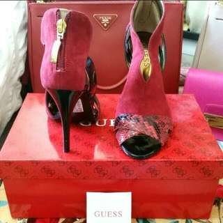 Repriced Guess Red Heel