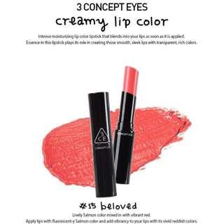 3CE Creamy Lip Color #15 Beloved