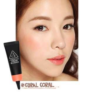 3CE Cream Blusher #Coral Coral
