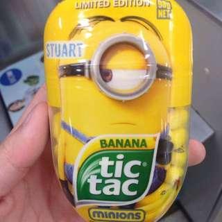 Tic Tac 限量版大包裝 香蕉口味