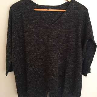 River Island Grey Knit Top