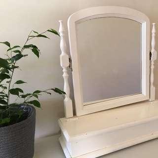Dresser Mirror with storage