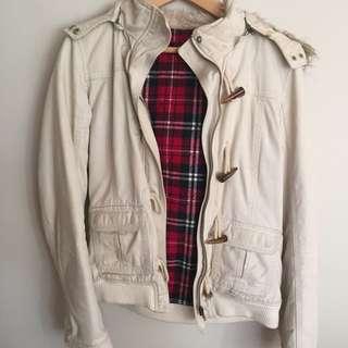 Cream Winter Jacket
