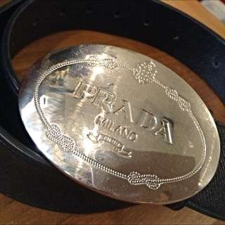 Authentic Prada Belt