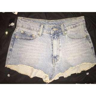 Cheap monday High Wasted Shorts