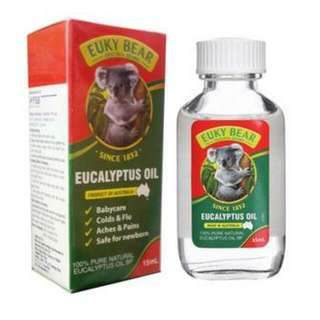 Essential Eucalyptus Oil 60ml ,100% pure