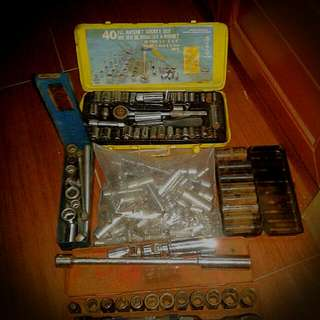 Assorted Socket And Driver Sets