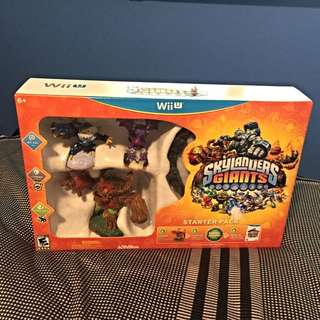 (Reduced $) Skylanders Giants Wii U