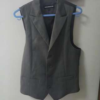 4 Button Grey Vest