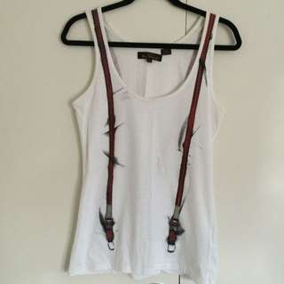 Ben Sherman Suspender Shirt