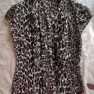 Leopard Shirt From Executive - RM 25 - S