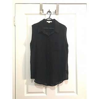 Jay Jays Sleeveless Button Down Shirt