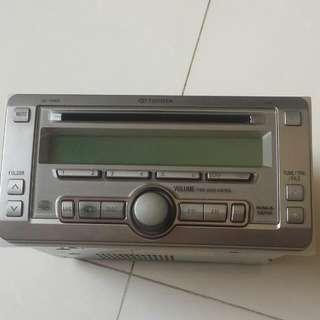 Selling Toyota Original 2 Din Audio Head Pionner Brand